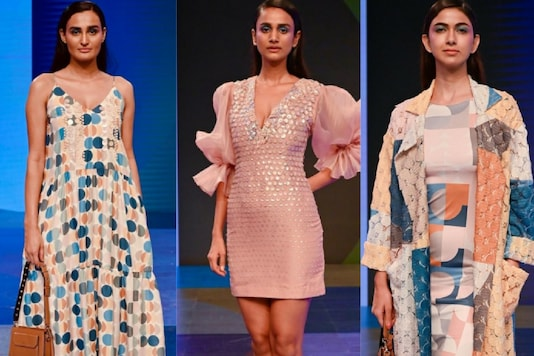Lakme Fashion Week 2020: Pankaj and Nidhi's Collection Stems from the Idea of Positivity