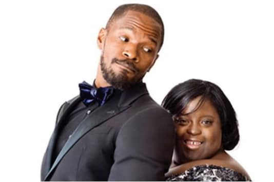 Jamie Foxx and sister