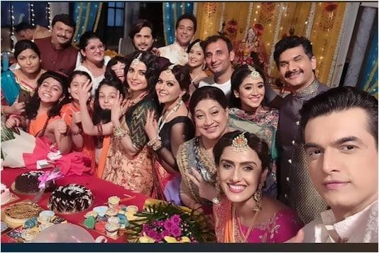 Yeh Rishta Kya Kehlata Hai Cast Celebrates Mohsin Khan aka Kartik's Birthday on the Set