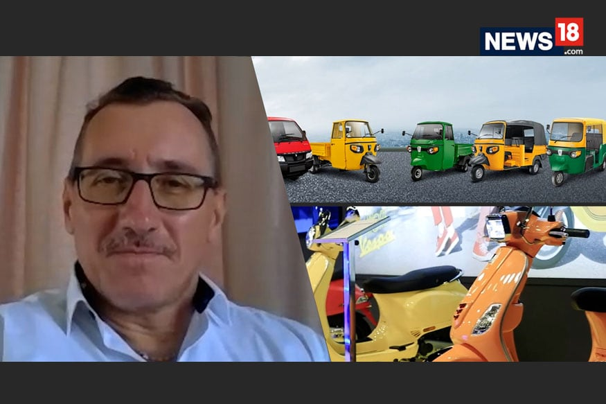 Electric 3-Wheelers Can Push India's Green Cause- Diego Graffi, MD & Chairman, Piaggio | Interview