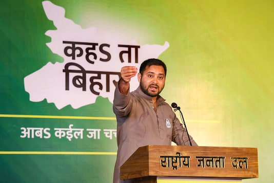 RJD leader Tejashwi Prasad Yadav. (PTI Photo)