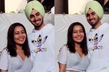 Neha Kakkar Returns to Mumbai With Rohanpreet Singh After Their 4-Day Wedding Celebration