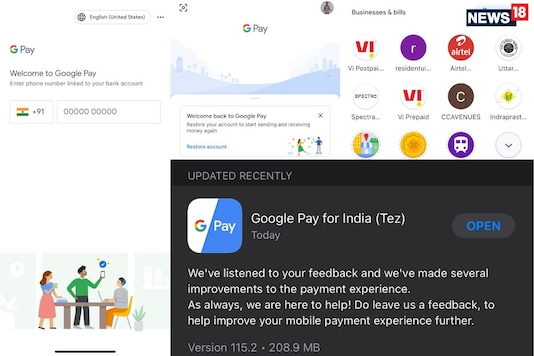 Google Pay Is Again Available For iPhone Users In India, But You Must Restore Bank Account For UPI