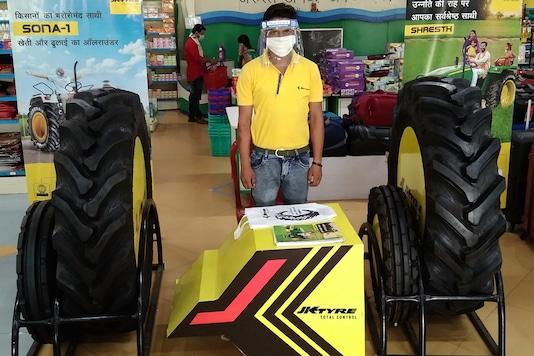 JK Tyre has partnered with ITC's Choupal Saagars. (Photo: JK Tyre)