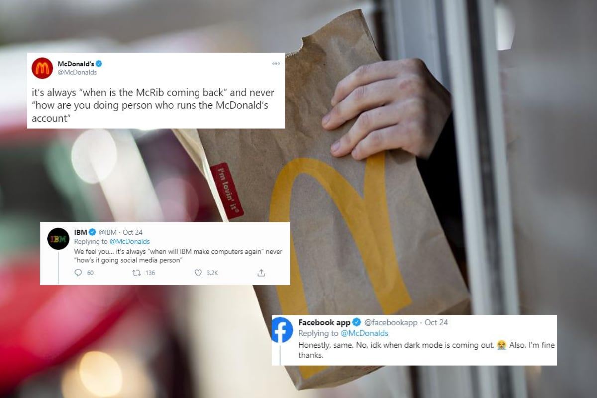 McDonald's Social Media Person Cries for Help, Other Brands Join with a Warm Embrace