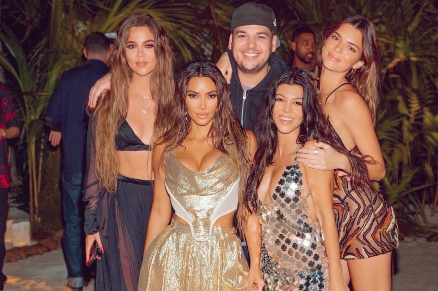 See Pictures From Kim Kardashian's Controversial 40th Birthday Party