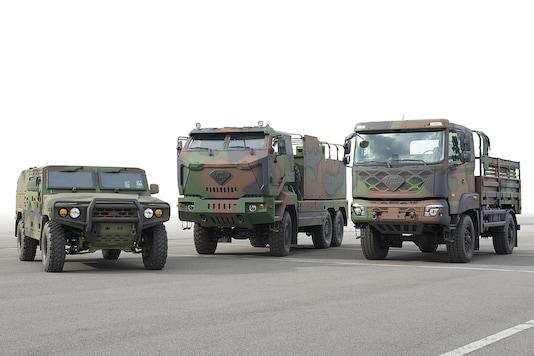 Kia Motors develops Military Standard Platform. (Photo: Kia Motors)