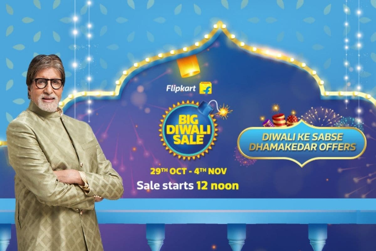 Flipkart Big Diwali Sale: All Credit Card, No-Cost EMI, and Exchange Offers During Flipkart's Diwali Sale