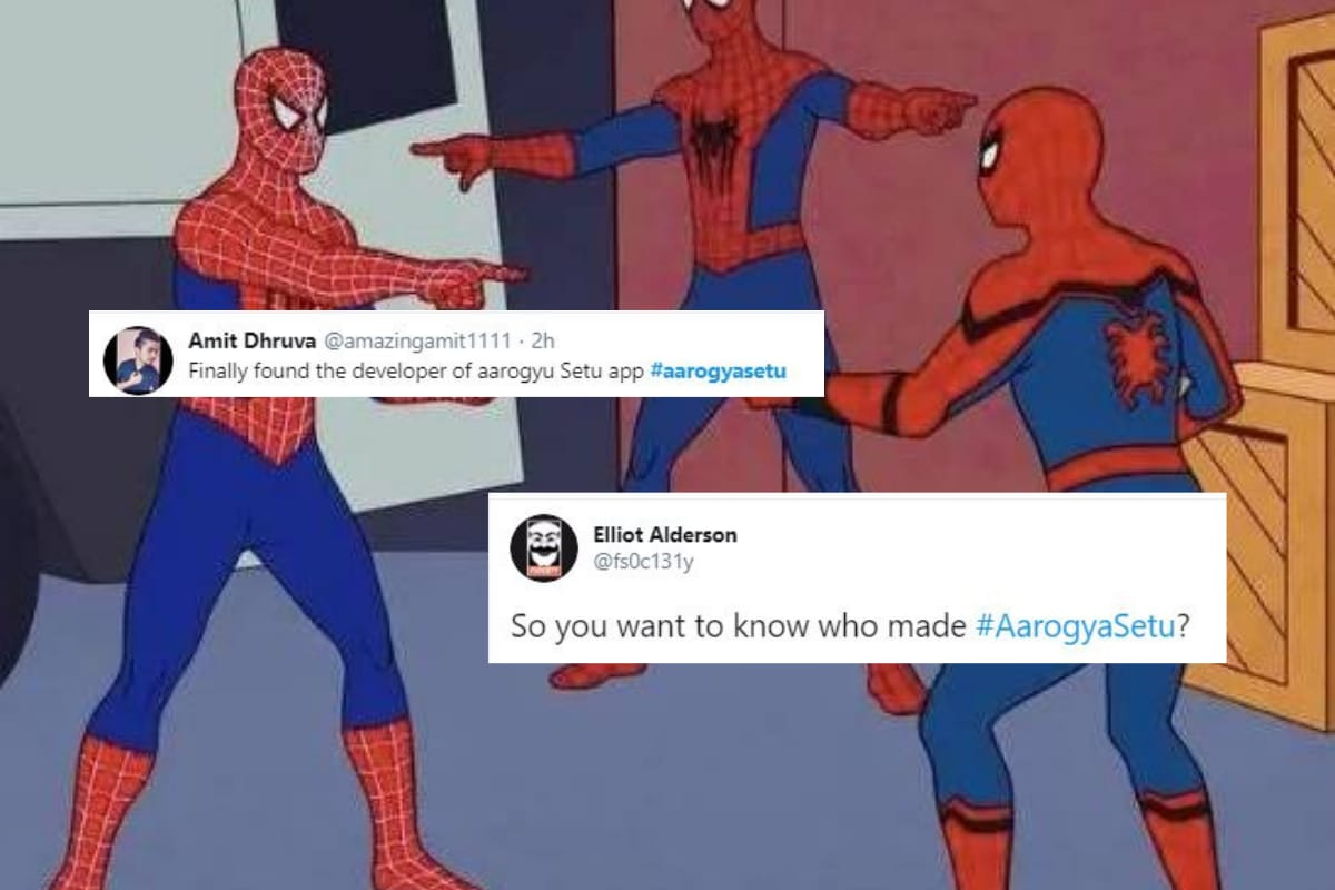 Government Says No Clue on Who Made Aarogya Setu App, Twitter Responds with Memes