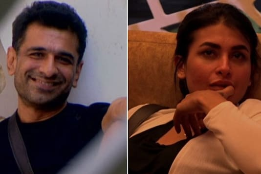 Eijaz Khan and Pavitra Punia (Image tweeted by Colors TV)
