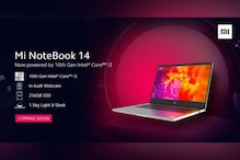Xiaomi to Soon Launch New Mi NoteBook 14 with 10th-Gen Intel Core i3 Processor in India