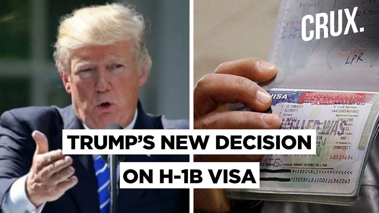 Trump's New H-1B Visa Policy A Set Back For IT Indian Workers' American Dream?