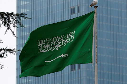 File photo of Saudi Arabia flag. (Reuters)