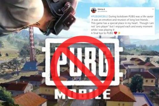 PUBG Mobile has been banned in India. (Photo Credit: PUBG Mobile Twitter/News18)