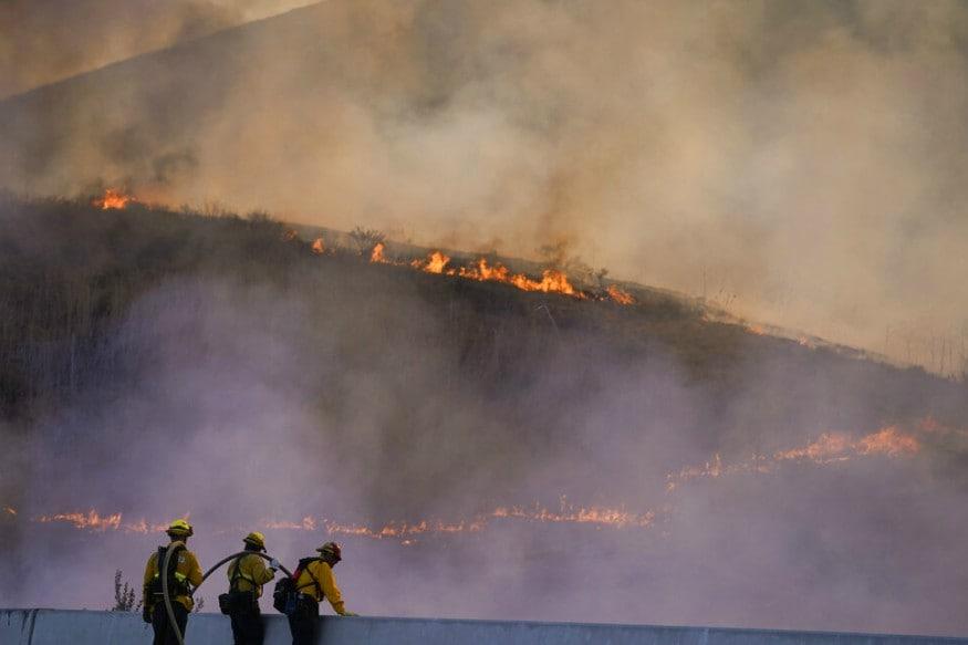 California Wildfires: Heatwave, Gusty Winds Heighten Risk of Fire Spread