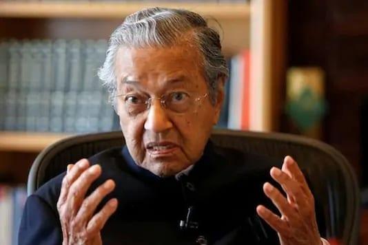 File photo of Malaysian PM  Mahathir Mohammad