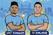 ISL: Mumbai City FC Sign Young Duo of Amey Ranawade and PC Rohlupuia