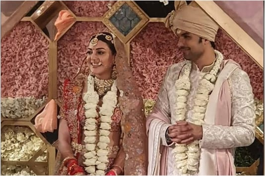 In Pics: Kajal Aggarwal Ties the Knot with Gautam Kitchlu