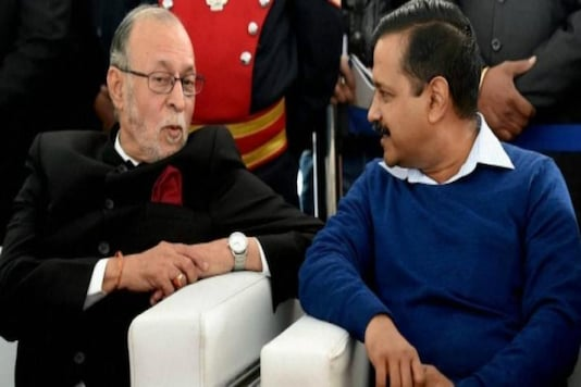 Delhi Lieutenant Governor (LG) Anil Baijal and Chief Minister Arvind Kejriwal (PTI)