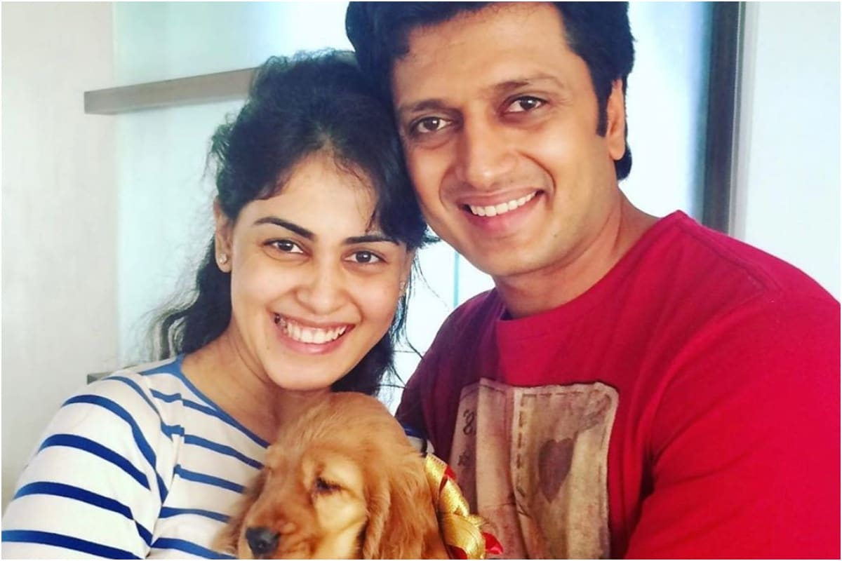 When Riteish Deshmukh and Genelia D'Souza Became 'Dog Parents', See Pic