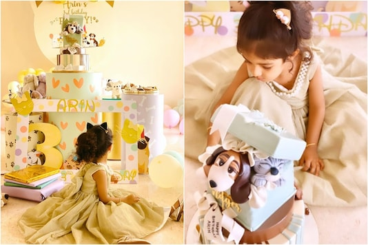 In Pics: A Sneak Peek Into Asin's Daughter's Birthday Party