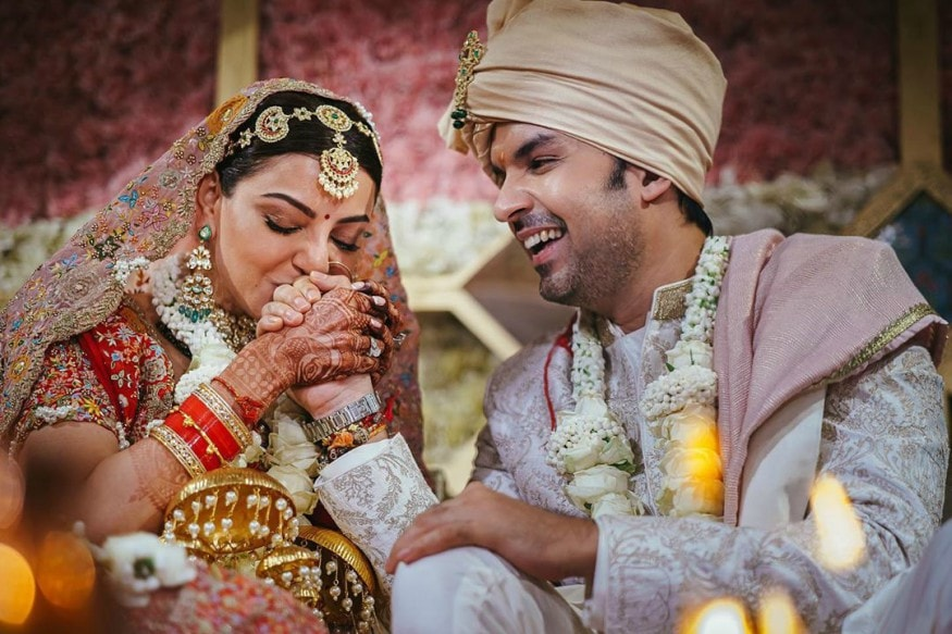 Kajal Aggarwal Weds Gautam Kitchlu: See Pictures From Their Fairytale Wedding