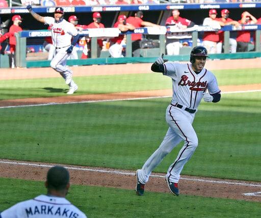 Braves Beat Reds 1-0 In Historic 13-inning Postseason Opener