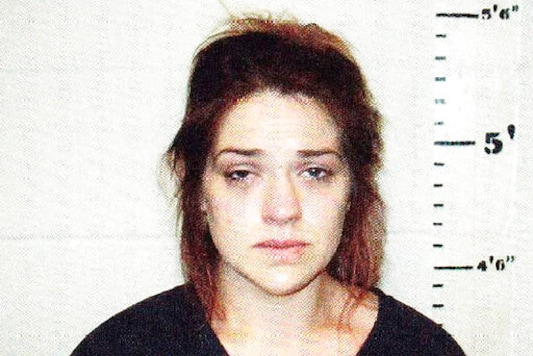 This Friday, Oct. 9, 2020 photo provided by the Idabel, Okla., Jail shows Taylor Parker. Oklahoma authorities said Tuesday, Oct. 13, 2020, that Parker, arrested on suspicion of killing a pregnant Texas woman and removing the baby from the victim's womb, has waived extradition. (Idabel Jail via AP)