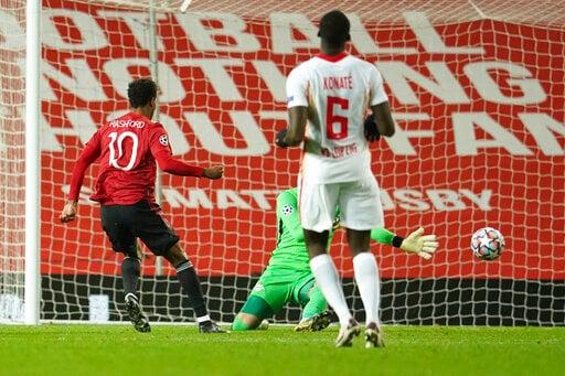 Rashford's Hat Trick Leads Man Utd To 5-0 Win Over Leipzig