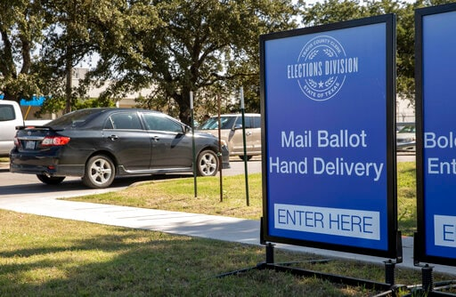 Texas Governor Restricts Mail-in Ballot Drop-off Locations