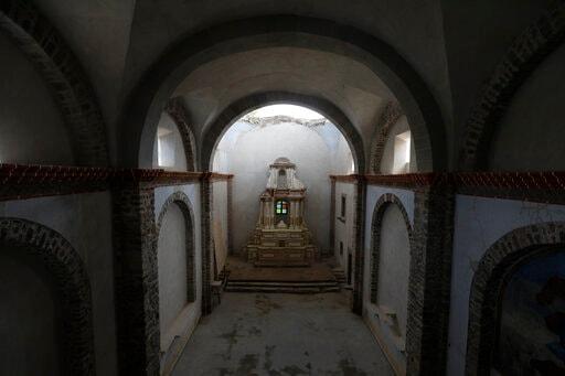 Mexico Halfway Through Quake Restoration Of Old Churches