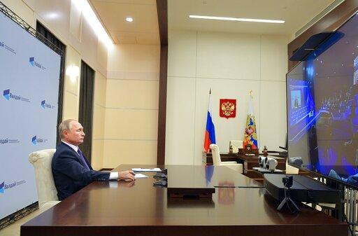 Putin Says He Allowed Foe Navalny To Get Treatment Abroad
