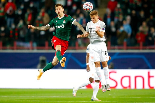 Kimmich Saves Bayern's Champions League Run In Moscow