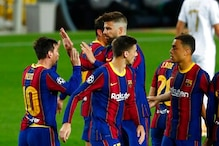 Barcelona Rout Ferencváros 5-1 In Champions League