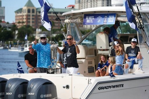 Lightning Celebrate Stanley Cup Title With Boat Parade