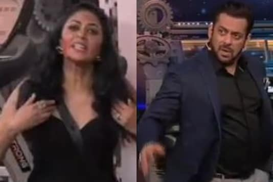 Bigg Boss 14: Angry at Kavita Kaushik's Rant, Salman Khan Walks Off-Stage on Weekend Ka Vaar