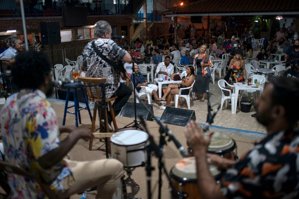 Brazil is Keeping Traditions Alive With Socially-Distanced Samba Sessions