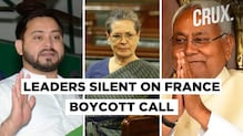 Why Congress, RJD and JD(U) Are Silent On Demand For Ban On French Products | Bihar Elections