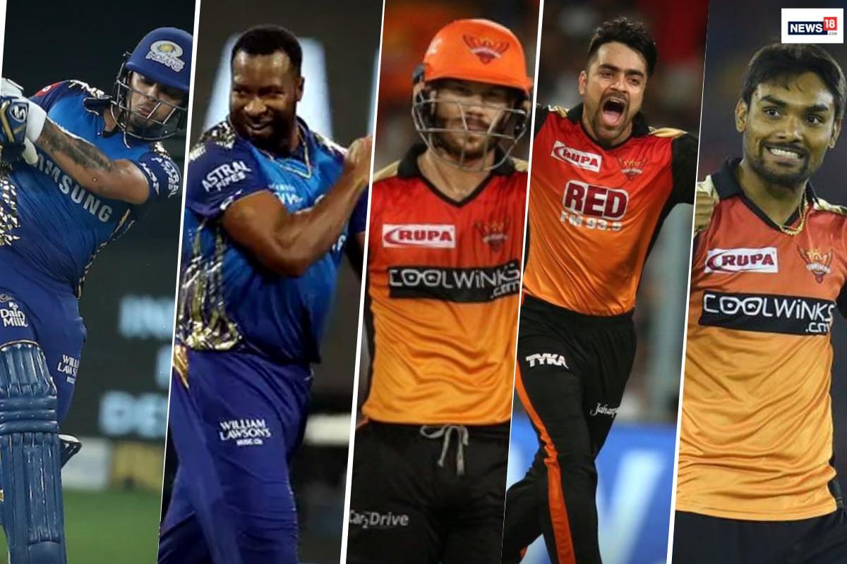 IPL 2020: Mumbai Indians vs Sunrisers Hyderabad - Top 5 Players