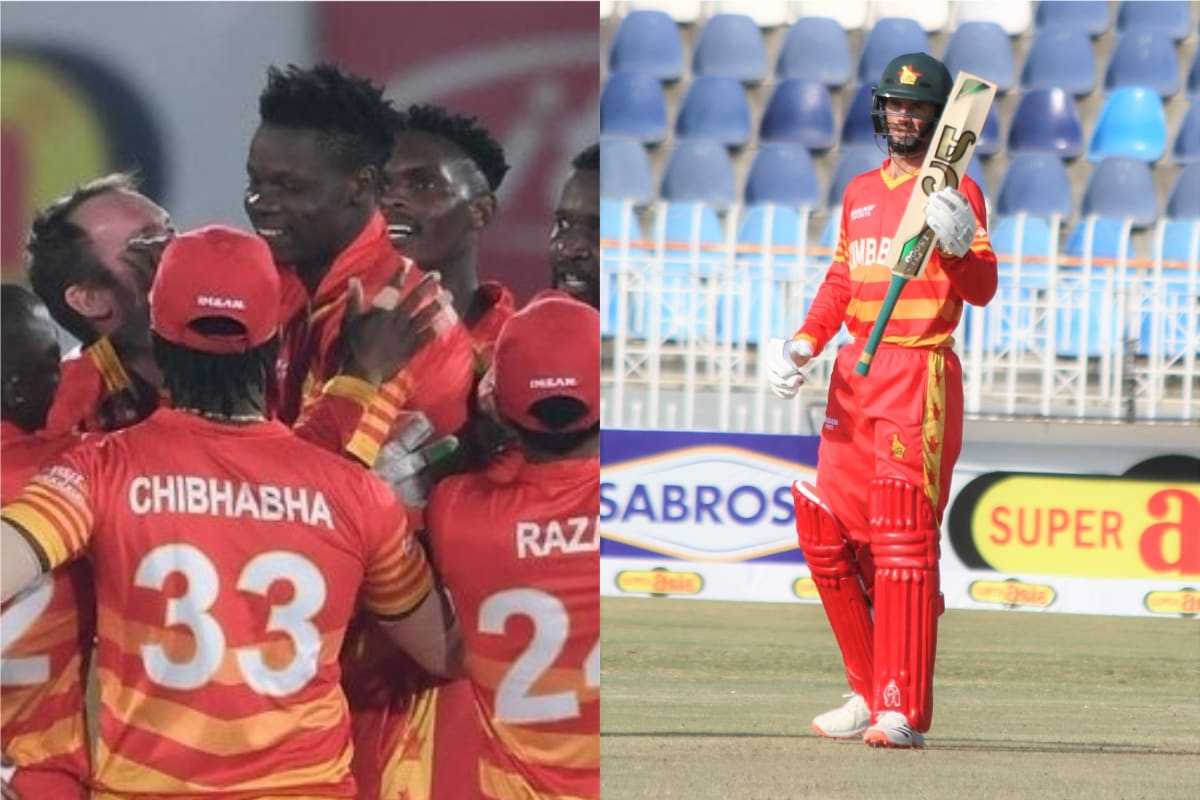 Zimbabwe Beat Pakistan in a Super Over Thriller to Win the Third ODI