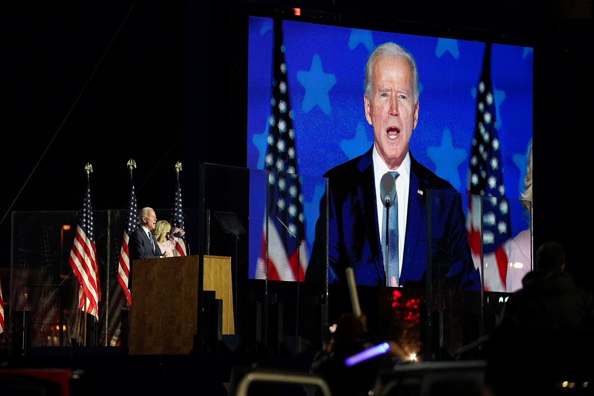 Us Election Results Live Highlights On Track To Win Says Biden As Trump Also Predicts Victory