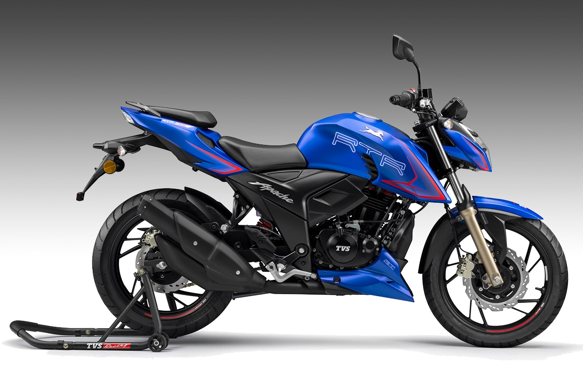 2020 TVS Apache RTR 200 4V Launched at Rs 1.31 Lakh in India, Gets Riding Modes