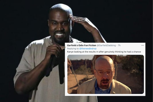 Kanye West lost the race to US Presidency after a an erratic election campaign | Image credit: Reuters/Twitter