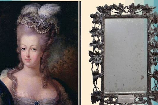 The Mirror that belonged to the French Queen.