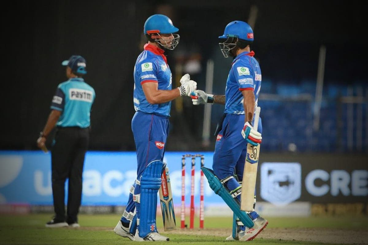 IPL 2020: Delhi Capitals Shikhar Dhawan Has No Issues Opening With Marcus Stoinis