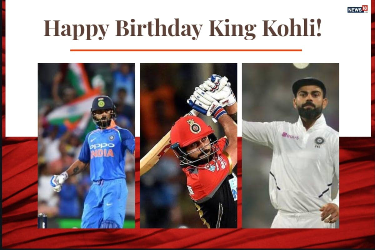 Happy Birthday Virat Kohli: Here's Looking At His Records Across All Formats Of Game