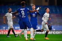 UEFA Champions League: Timo Werner On The Spot as Chelsea Beat 10-man Rennes 3-0