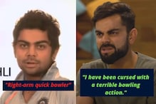 Virat Kohli Hilariously Disagreeing With Younger Self on His Bowling Proves He's Come a Long Way