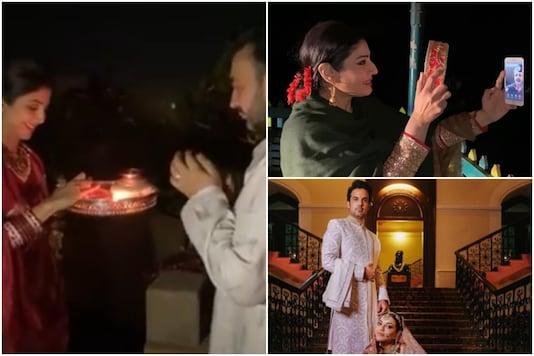 Inside Bipasha Basu, Shilpa Shetty, Raveena Tandon's Karva Chauth Celebrations, See Pics
