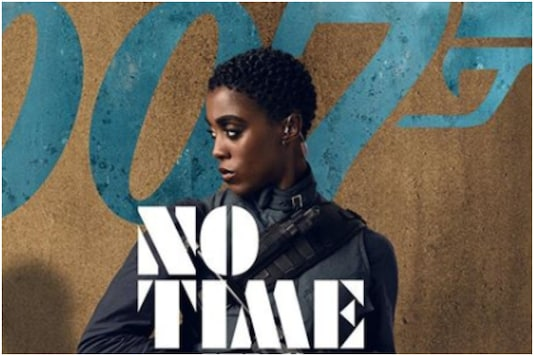 Lashana Lynch in 'No Time To Die' poster